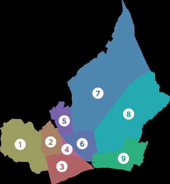 富士地区マップ